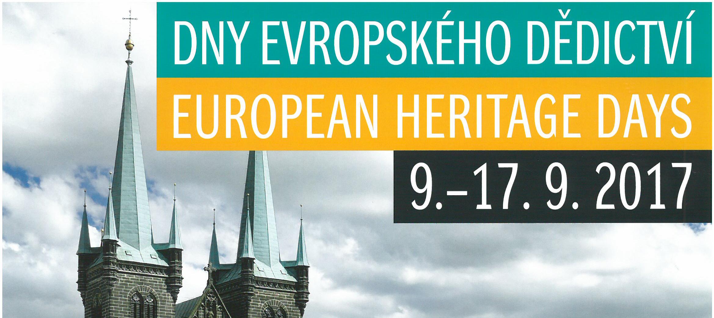 Dny evropského dědictví 16. – 17. 9.