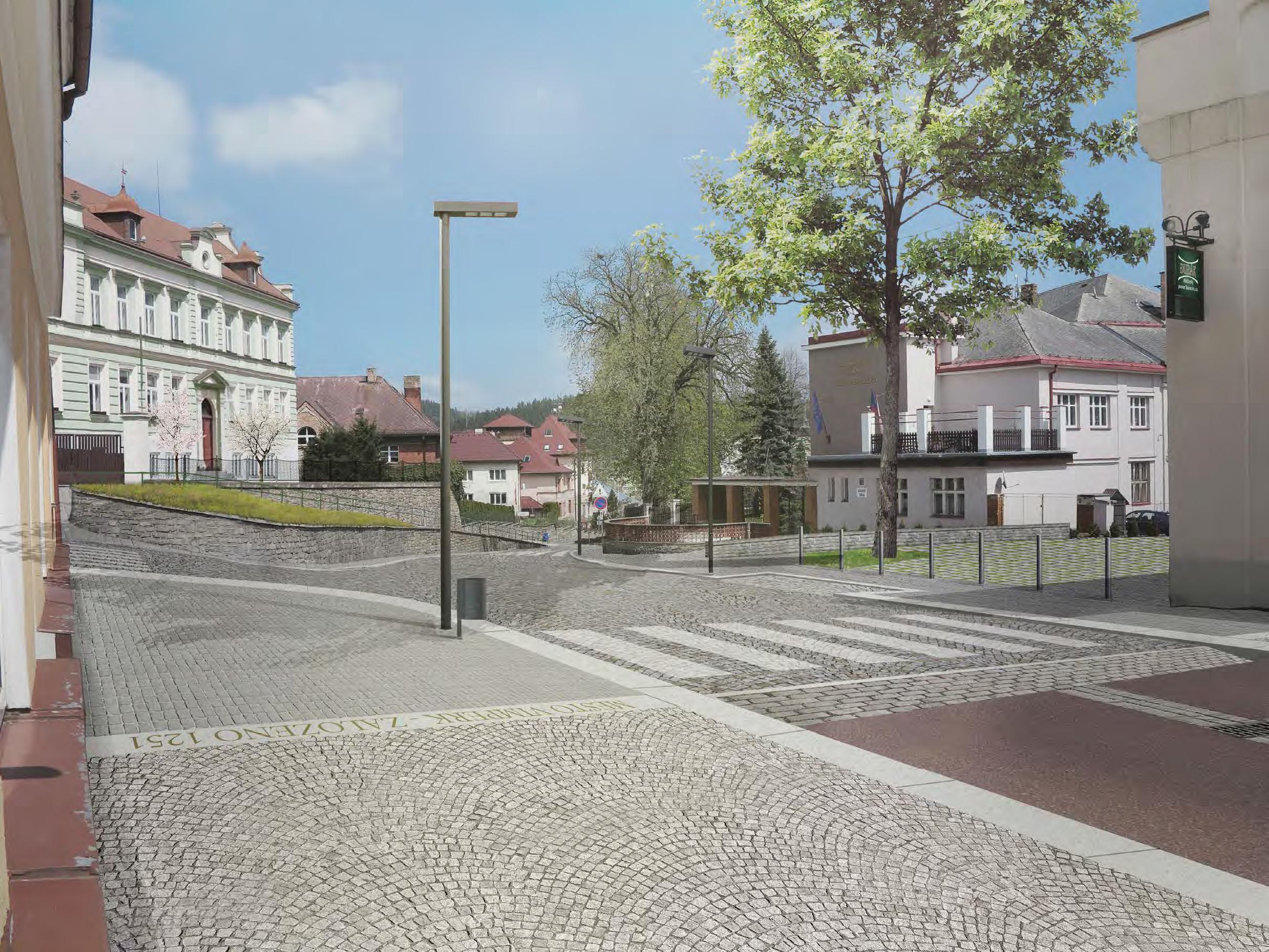 Proměna ulice 1. máje a Pivovarské